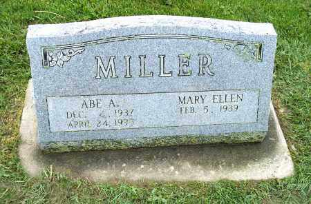MILLER, ABE A. - Holmes County, Ohio | ABE A. MILLER - Ohio Gravestone Photos