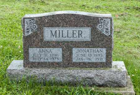 MILLER, ANNA - Holmes County, Ohio | ANNA MILLER - Ohio Gravestone Photos