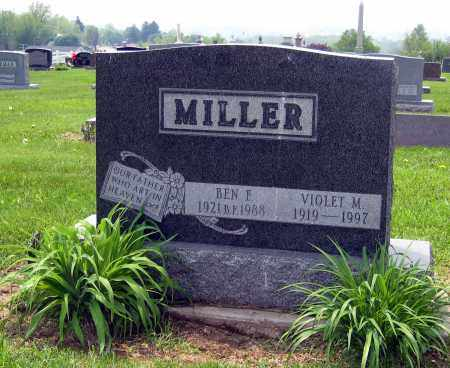 MILLER, VIOLET M. - Holmes County, Ohio | VIOLET M. MILLER - Ohio Gravestone Photos