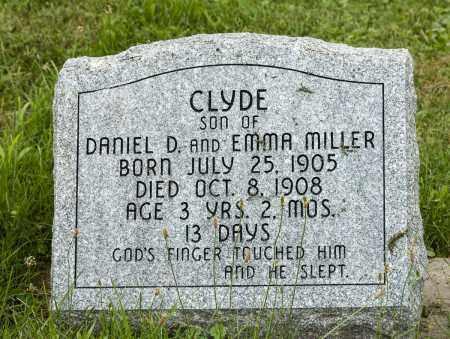 MILLER, CLYDE - Holmes County, Ohio   CLYDE MILLER - Ohio Gravestone Photos