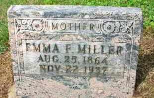 MILLER, EMMA F. - Holmes County, Ohio | EMMA F. MILLER - Ohio Gravestone Photos