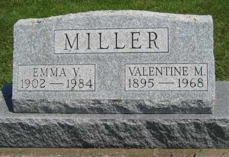 MILLER, EMMA V. - Holmes County, Ohio | EMMA V. MILLER - Ohio Gravestone Photos