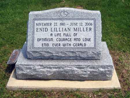 MILLER, ENID LILLIAN - Holmes County, Ohio | ENID LILLIAN MILLER - Ohio Gravestone Photos