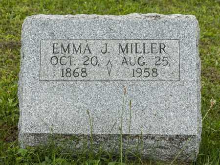 MILLER, EMMA J. - Holmes County, Ohio   EMMA J. MILLER - Ohio Gravestone Photos