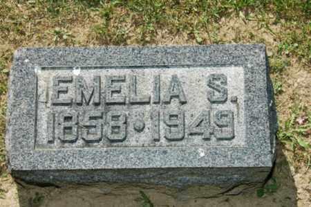 HOERGER MILLER, EMELIA SOPHIA - Holmes County, Ohio | EMELIA SOPHIA HOERGER MILLER - Ohio Gravestone Photos