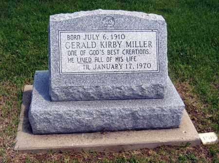 MILLER, GERALD KIRBY - Holmes County, Ohio | GERALD KIRBY MILLER - Ohio Gravestone Photos