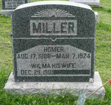 MILLER, HOMER - Holmes County, Ohio   HOMER MILLER - Ohio Gravestone Photos