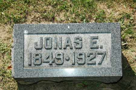 MILLER, JONAS E. - Holmes County, Ohio   JONAS E. MILLER - Ohio Gravestone Photos