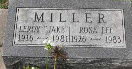 "MILLER, LEROY ""JAKE"" - Holmes County, Ohio | LEROY ""JAKE"" MILLER - Ohio Gravestone Photos"