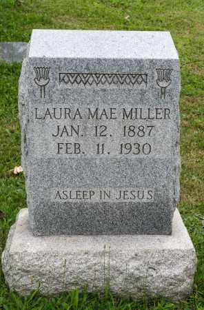 MILLER, LAURA MAE - Holmes County, Ohio | LAURA MAE MILLER - Ohio Gravestone Photos