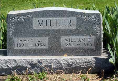 MILLER, WILLIAM E. - Holmes County, Ohio | WILLIAM E. MILLER - Ohio Gravestone Photos