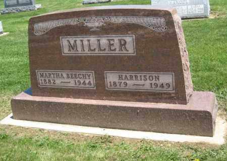MILLER, MARTHA BEECHY - Holmes County, Ohio | MARTHA BEECHY MILLER - Ohio Gravestone Photos