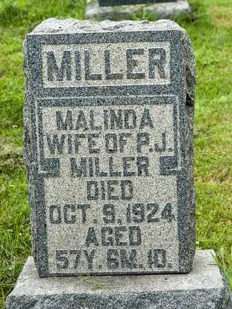 MILLER, MALINDA - Holmes County, Ohio | MALINDA MILLER - Ohio Gravestone Photos