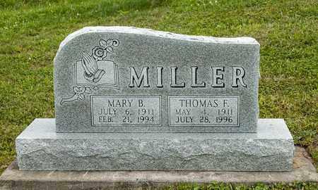 MILLER, MARY B. - Holmes County, Ohio | MARY B. MILLER - Ohio Gravestone Photos