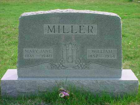 WESLEY MILLER, MARY JANE - Holmes County, Ohio | MARY JANE WESLEY MILLER - Ohio Gravestone Photos