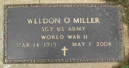 MILLER MILITARY, WELDON O - Holmes County, Ohio | WELDON O MILLER MILITARY - Ohio Gravestone Photos