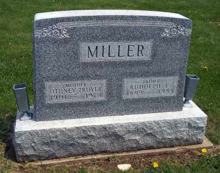 TROYER MILLER, ORTHNEY - Holmes County, Ohio | ORTHNEY TROYER MILLER - Ohio Gravestone Photos
