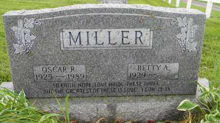 MILLER, BETTY A. - Holmes County, Ohio | BETTY A. MILLER - Ohio Gravestone Photos