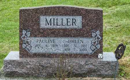 MILLER, OHLEN - Holmes County, Ohio   OHLEN MILLER - Ohio Gravestone Photos
