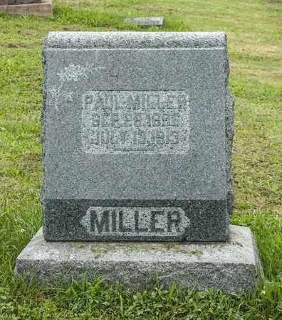 MILLER, PAUL - Holmes County, Ohio | PAUL MILLER - Ohio Gravestone Photos