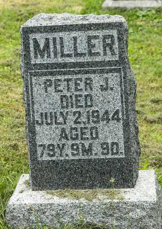 MILLER, PETER J. - Holmes County, Ohio | PETER J. MILLER - Ohio Gravestone Photos