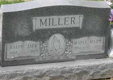 "MILLER, RALPH ""JACK"" - Holmes County, Ohio | RALPH ""JACK"" MILLER - Ohio Gravestone Photos"