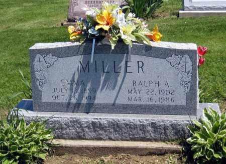 MILLER, RALPH A - Holmes County, Ohio | RALPH A MILLER - Ohio Gravestone Photos