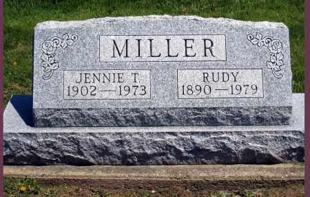 MILLER, RUDY - Holmes County, Ohio | RUDY MILLER - Ohio Gravestone Photos