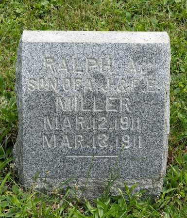 MILLER, RALPH A. - Holmes County, Ohio | RALPH A. MILLER - Ohio Gravestone Photos