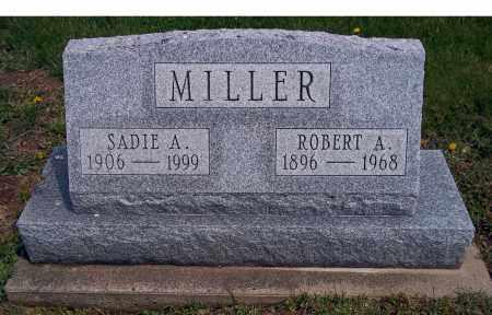 MILLER, SADIE A - Holmes County, Ohio   SADIE A MILLER - Ohio Gravestone Photos