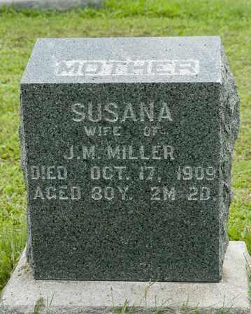 SCHROCK MILLER, SUSANA - Holmes County, Ohio | SUSANA SCHROCK MILLER - Ohio Gravestone Photos