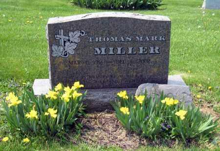 MILLER, THOMAS MARK - Holmes County, Ohio   THOMAS MARK MILLER - Ohio Gravestone Photos