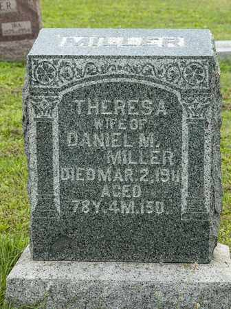 MILLER, THERESA - Holmes County, Ohio | THERESA MILLER - Ohio Gravestone Photos