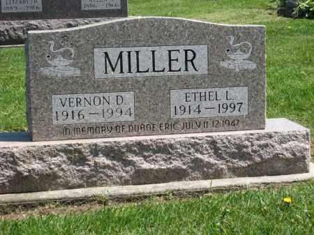 MILLER, VERNON D. - Holmes County, Ohio | VERNON D. MILLER - Ohio Gravestone Photos