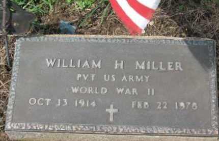MILLER, WILLIAM H. - Holmes County, Ohio | WILLIAM H. MILLER - Ohio Gravestone Photos