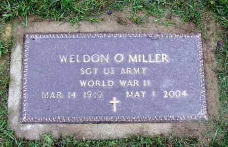 MILLER, WELDON O - Holmes County, Ohio   WELDON O MILLER - Ohio Gravestone Photos