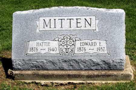 MITTEN, HATTIE - Holmes County, Ohio | HATTIE MITTEN - Ohio Gravestone Photos