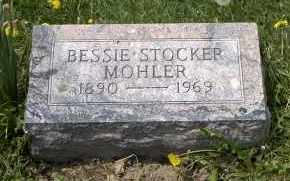 MOHLER, BESSIE - Holmes County, Ohio | BESSIE MOHLER - Ohio Gravestone Photos