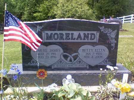 MORELAND, BETTY ELLEN - Holmes County, Ohio | BETTY ELLEN MORELAND - Ohio Gravestone Photos