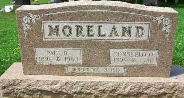 MORELAND, CONSUELO O. - Holmes County, Ohio | CONSUELO O. MORELAND - Ohio Gravestone Photos