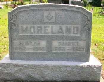 MORELAND, ALWILDA - Holmes County, Ohio | ALWILDA MORELAND - Ohio Gravestone Photos
