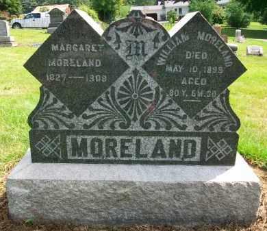 MORELAND, MARGARET - Holmes County, Ohio | MARGARET MORELAND - Ohio Gravestone Photos
