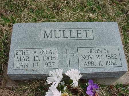 NEAL MULLET, ETHEL A. - Holmes County, Ohio | ETHEL A. NEAL MULLET - Ohio Gravestone Photos
