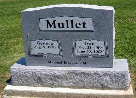 MULLET, GENEVA - Holmes County, Ohio   GENEVA MULLET - Ohio Gravestone Photos