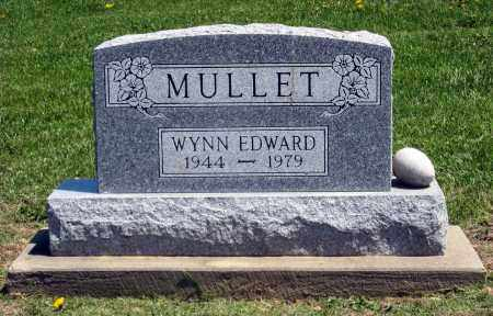 MULLET, WYNN EDWARD - Holmes County, Ohio   WYNN EDWARD MULLET - Ohio Gravestone Photos