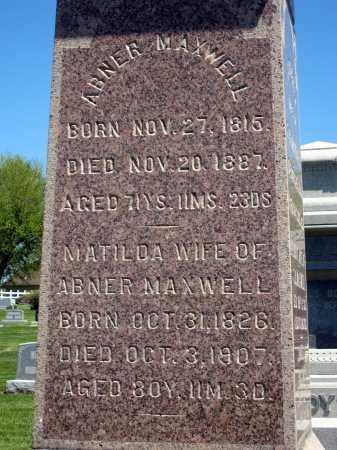 MZXWELL, ABNER - Holmes County, Ohio | ABNER MZXWELL - Ohio Gravestone Photos
