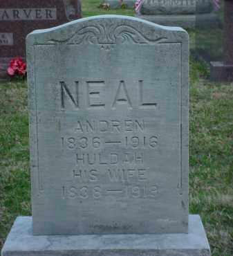 NEAL, HULDA - Holmes County, Ohio | HULDA NEAL - Ohio Gravestone Photos