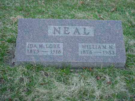 LORE NEAL, IDA M - Holmes County, Ohio | IDA M LORE NEAL - Ohio Gravestone Photos