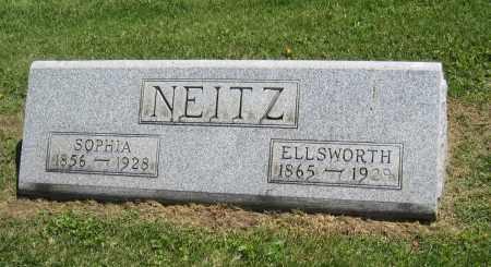 NEITZ, SOPHIA - Holmes County, Ohio | SOPHIA NEITZ - Ohio Gravestone Photos