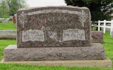 NISLEY, SUSIE - Holmes County, Ohio | SUSIE NISLEY - Ohio Gravestone Photos